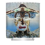 Surreal Memories Shower Curtain