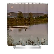 Surreal Morning Shower Curtain