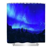 Surreal Nights Shower Curtain