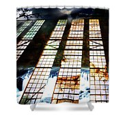 Surreal Nightscape Shower Curtain