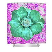 Surreal Poppy  Shower Curtain