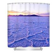 Surreal Salt Shower Curtain by Chad Dutson