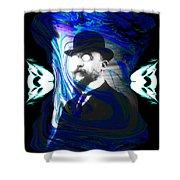Surreal Satie, The Velvet Gentlemen Shower Curtain