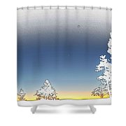 Surreal Sunrise At The Grand Canyon Shower Curtain