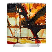 Surrealism In Nature Shower Curtain
