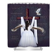 Surrender To Jesus Shower Curtain