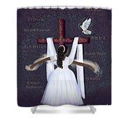 Surrender To Jesus Shower Curtain