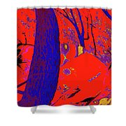 Surrounded 6 Shower Curtain