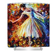 Surrounded By Music Shower Curtain