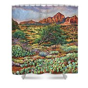 Surrounded By Sedona Shower Curtain