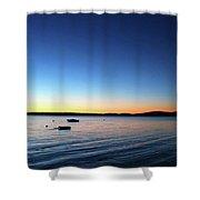 Surry, Sunrise Shower Curtain