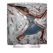Susan - Tile Shower Curtain