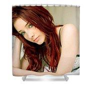 Susan Coffey Shower Curtain