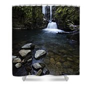 Susan Creek Falls Oregon 1 Shower Curtain