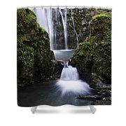 Susan Creek Falls Oregon 4 Shower Curtain