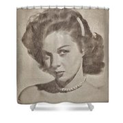 Susan Hayward, Actress Shower Curtain