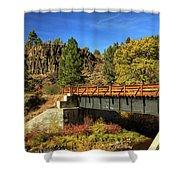 Susan River Bridge On The Bizz Shower Curtain