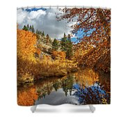 Susan River Reflections Shower Curtain