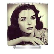 Susan Strasberg, Vintage Actress Shower Curtain