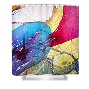 Sushi On Pluto Shower Curtain