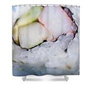 Sushi Roll Shower Curtain