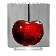 Suspended Cherry Shower Curtain