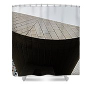 Suspended Semi-circle Shower Curtain
