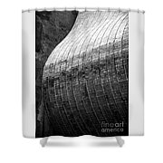 Suspended Wave Shower Curtain