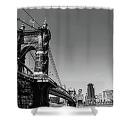 Suspension Bridge Shower Curtain
