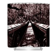 Suspension Bridge Shower Curtain