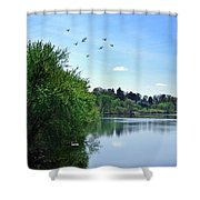 Susquehanna Serenty Shower Curtain