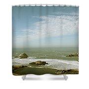 Sutro Baths San Francisco Shower Curtain