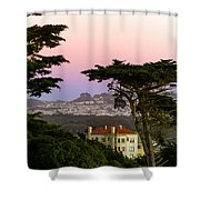 Sutro Heights Park View Shower Curtain