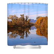 Sutter Buttes From Hughes Road Shower Curtain