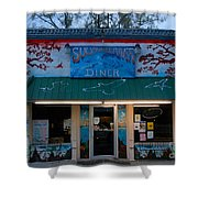 Suwannee River Diner Shower Curtain
