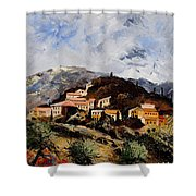Suzette Provence  Shower Curtain