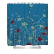 Suzy's Meadow Shower Curtain