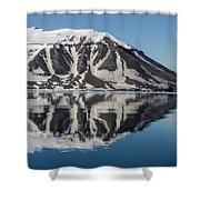 Svalbard Reflection 2 Shower Curtain
