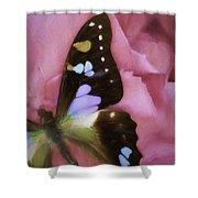 Swallowtail Dreams Shower Curtain