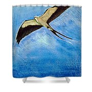 Swallowtail Sighting Shower Curtain