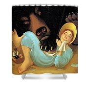Swamp Angel 21 Paulozelinsky Sqs Paul O Zelinsky Shower Curtain