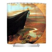 Swamp Angel 34 Paulozelinsky Sqs Paul O Zelinsky Shower Curtain