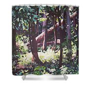 Swamp Glow Shower Curtain