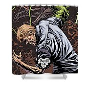 Swamp Thing Shower Curtain