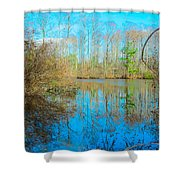 Swamp Things  Shower Curtain