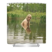 Swamp Witch Shower Curtain