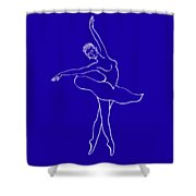 Swan Lake Dance Shower Curtain