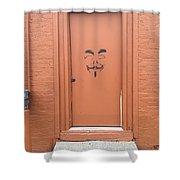 Swann Door Shower Curtain