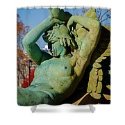 Swann Memorial Fountain Shower Curtain