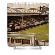 Swansea - Vetch Field - North Bank 2 - 1970s Shower Curtain
